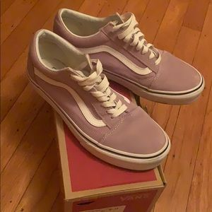light purple vans